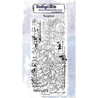 IndigoBlu Foxglove gummistämpel