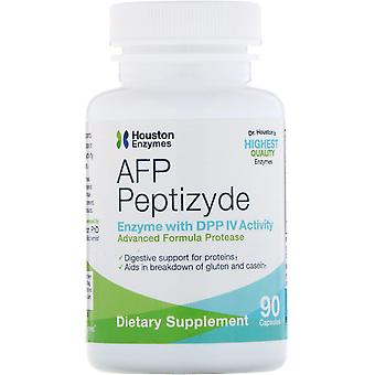 Houston Enzymes, AFP Peptizyde, 90 Capsules