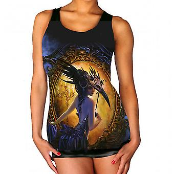 Wild star - midnight dancer - womens vest top  available in plus sizes