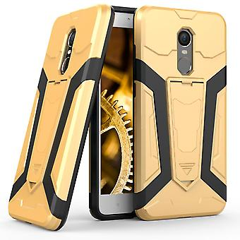 Shell of Xiaomi Redmi Note 4X - Gold Kickstand Armor Protection Case Hard