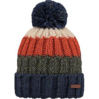 Barts Wilhelm Bobble Hat in Blue