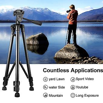 Portable Camera Tripod For Phone, Canon, Nikon, Sony Dslr Camera Camcorder