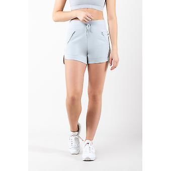 Womens Stretchy Woven Gym Active Shorts