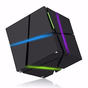 Wireless portatile Hifi Square Led Cube Stereo Altoparlanti Super Bass Sound
