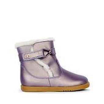 Bobux i-walk whistler arctic grape gold boots