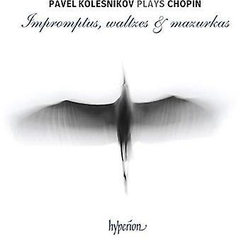 Chopin: Impromptus, Valses & Mazurkas [CD] USA import