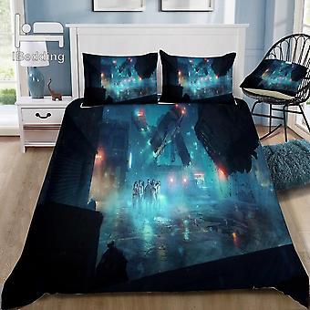 Hot Horror Movie Stranger Things 3d Bedding Set Printed Duvet Cover Set