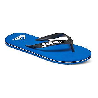 Quiksilver Molokai Flip flops - Blue / Black