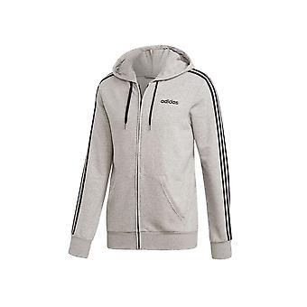 アディダスエッセンシャル3ストライプフルジップDU0473ユニバーサルオールイヤー男性スウェットシャツ