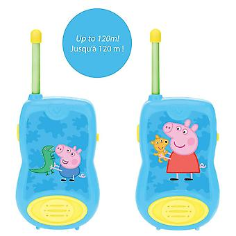 Lexibook Peppa Pig Walkie-Talkies 100M (Model nr. TW12PP)