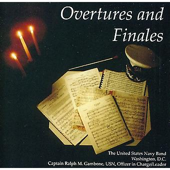 U.S. Navy Band - Overtures and Finales [CD] USA import