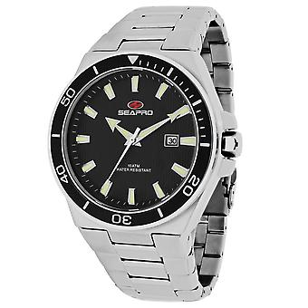 Seapro Men's Storm Black Dial Uhr - SP8112