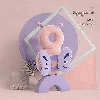 Baby Head Protector Safety Cushion-unicorn Bee Cartoon Shaped Pillow (33x19x6