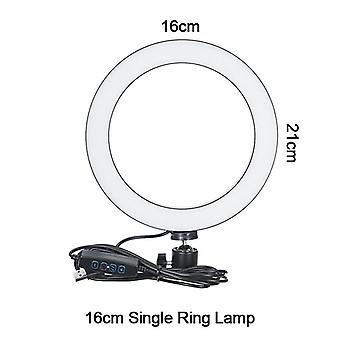 Fotografia Dimmable Led Selfie Anello Luce Video Live Photo Studio Con Telefono