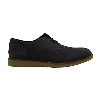 Bar III Mens Leather Lace Up Casual Oxfords