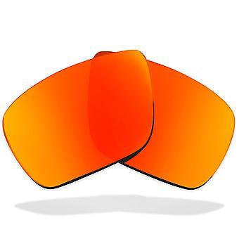 Polariserade ersättningslinser för VON ZIPPER ELMORE Solglasögon Anti-Scratch Red