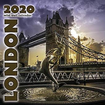 London 2020 Mini Wall Calendar
