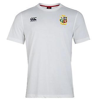 Canterbury British & Irish Lions Rugby Cotton Jersey Tee | Mens | White | 2021
