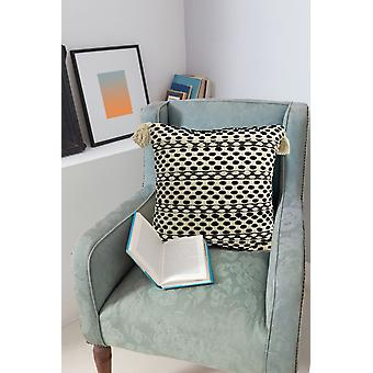 Modern Beach Style With Corner Fringes - Pillow