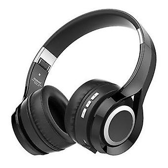 HiFi Stereo Langaton bluetooth-kuulokekuulokkeet Taitettava kuuloke mikrofonilla