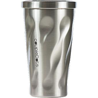 Travel Mug Tumbler For Hot And Cold Drinks With Straw
