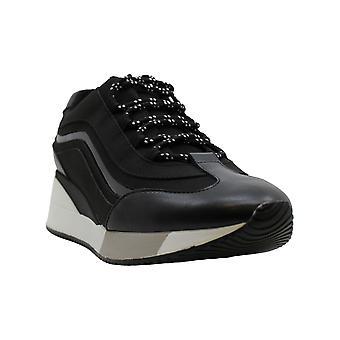 ألفاني النساء وينتر منخفضة أعلى الدانتيل حتى أحذية رياضية الموضة