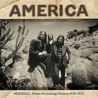 America - Heritage: Home Recordings / Demos 1970-1973 [CD] USA import