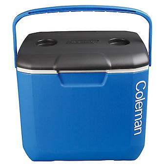 Coleman blue 30QT tricolour performance camping cooler