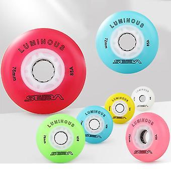 Luminous Led Wheel 85a, Flash Skate Lighting Sliding Roller