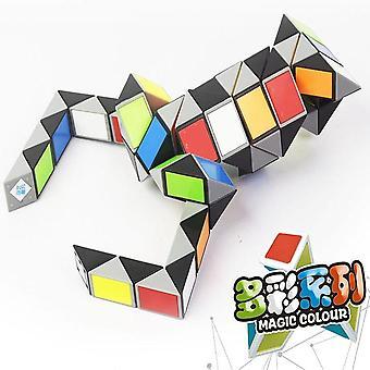 3d Magic Ruler Cube Magico Snake Twist Cube Puzzle Kid Educational