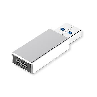 JOYROOM S-M203 2 in 1 Portable Mini Aluminium Alloy USB 3.0 to Type-C Converter Adapter, For iPad, iPhone, Galaxy, Huawei, Xiaomi, LG, HTC and Other S