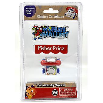 Worlds smallest si505 fisher price classic chatter phone