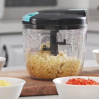 Hand Pulling Meat Grinder Household Kitchen Food Mixer Vegetables Cutter