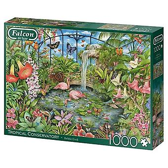 Falcon de luxe Jigsaw Puzzle 1000 pieces Tropical Conservatory