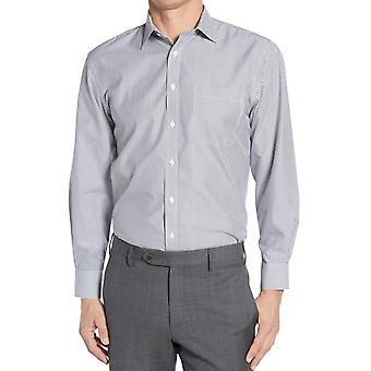 Fine straight-cut stripe shirt