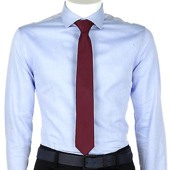 Calvin Klein Men Tie Logo Tail Red