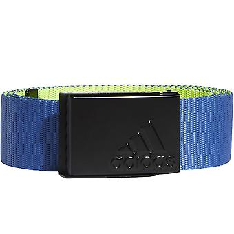 adidas Performance Mens Reversible Webbing Sports Golf Belt Royal Blue One Size