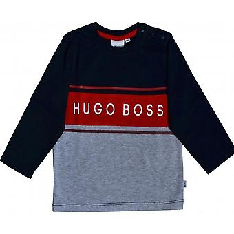Hugo Boss Boys Hugo Boss Infant Boy ' s pitkähihainen T-paita