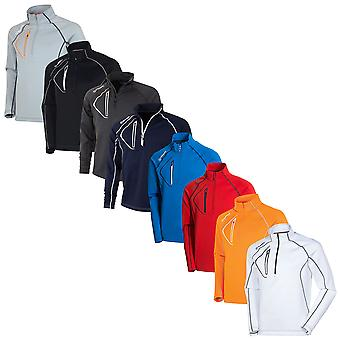 Sunice Mens 2021 Allendale Lightweight Golf Pullover Half Zip Sweater