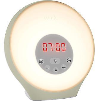 Lumie Sunrise Alarm - Sunrise Wake-up Alarm, Sunset Sleep Feature, Sounds