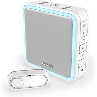 Honeywell Home DC915S 9 Series wireless doorbell 200 m range, 8 melodies, White