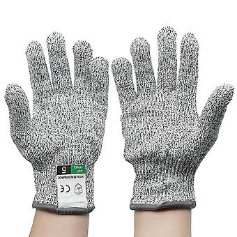 Anti Cut Gloves, Safety Cut Proof, Stab Resistant, Stainless Steel, Wire Metal