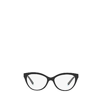 Tiffany TF2180 black on crystal tiffany blue female eyeglasses
