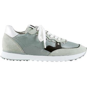 Hogl athletic green grey trainers womens green, grey