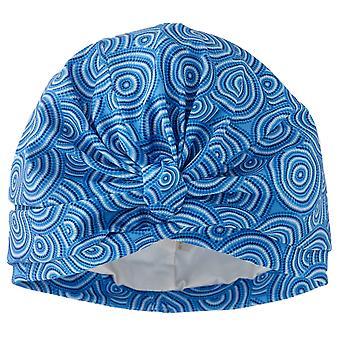 Blue Ripple Shower Turban