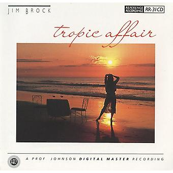 Jim Brock - Tropic Affair [CD] USA import