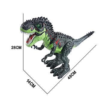 Suuri spray dinosaurus Tyrannosaurus robotti malli koulutus lelu