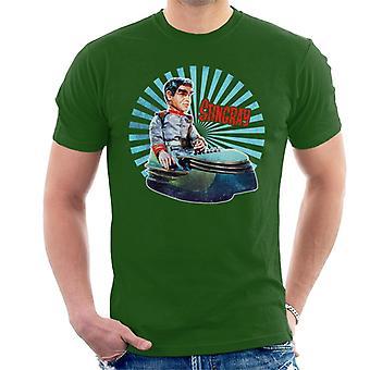 Stingray Commander Sam Shore In Hoverchair Men's T-Shirt