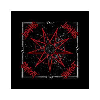 Slipkne bandana devět špičatých klasických pásek logo oficiální nová černá (21in x 21in)