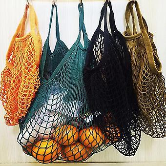 Mesh String Shopping Bag, Reusable Fruit Storage, Handbag